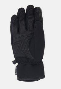 Reusch - STORM R-TEX - Handschoenen - black/black melange/neon green - 2
