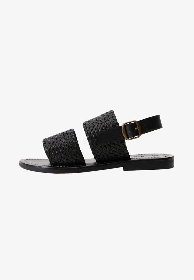 TIRAS - Sandals - schwarz