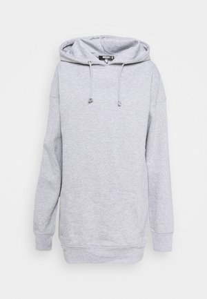 BASIC HOODY - Sudadera - grey