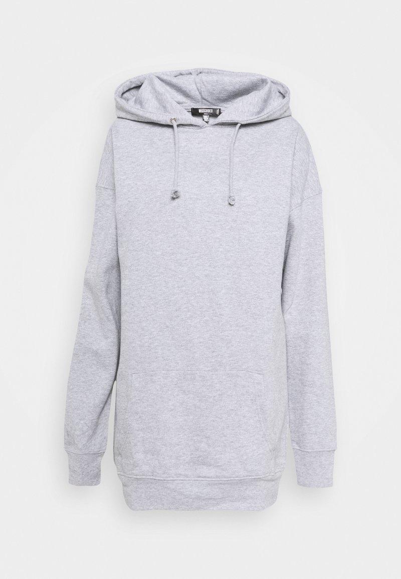 Missguided Tall - BASIC HOODY - Sweatshirt - grey