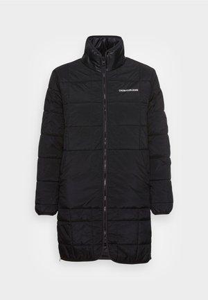 LONG LINER JACKET - Short coat - black