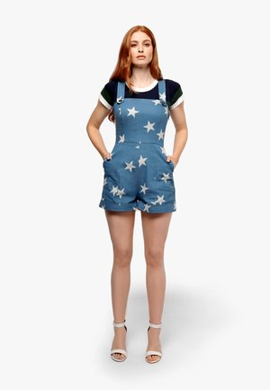 MILA ACID STAR - Overall / Jumpsuit /Buksedragter - dark blue
