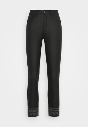 GABY PANTS KATY - Trousers - pitch black