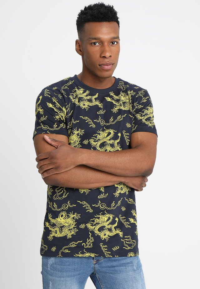 DRAGON TEE - T-shirts print - blue