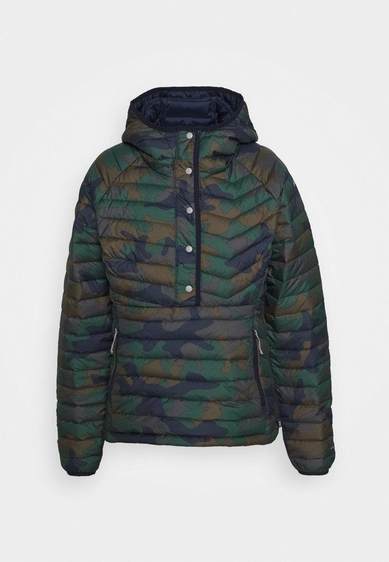 Columbia - POWDER LITEINSULATED ANORAK - Outdoor jacket - dark nocturnal
