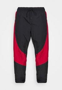 Jordan - Tracksuit bottoms - black/gym red - 3