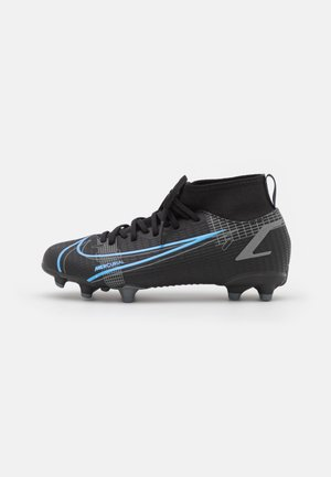 MERCURIAL 8 ACADEMY MG UNISEX - Chaussures de foot à crampons - black/iron grey