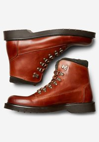 Selected Homme - Lace-up ankle boots - cognac - 2