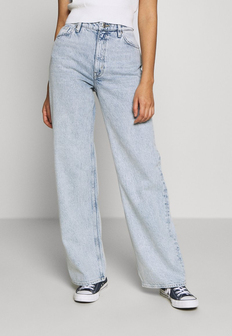 Monki - YOKO - Jeans Relaxed Fit - blue dusty light