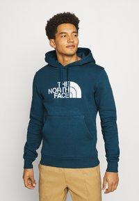 The North Face - DREW PEAK HOODIE - Jersey con capucha - montryblu - 0