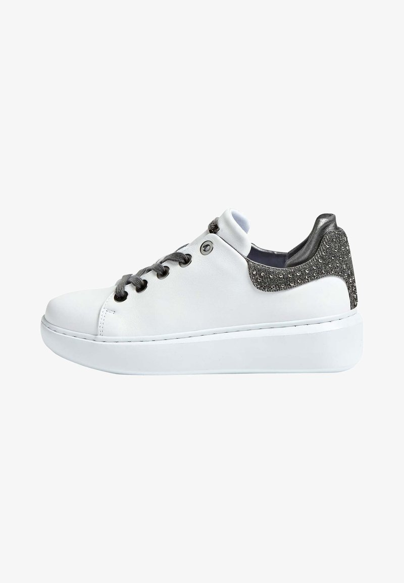 Guess - BRAYLIN ECHTES - Sneakers basse - white