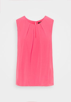 BLOUSE NON SLEEVE - Topper - pink berry