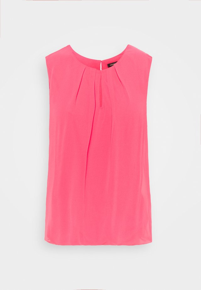 BLOUSE NON SLEEVE - Top - pink berry