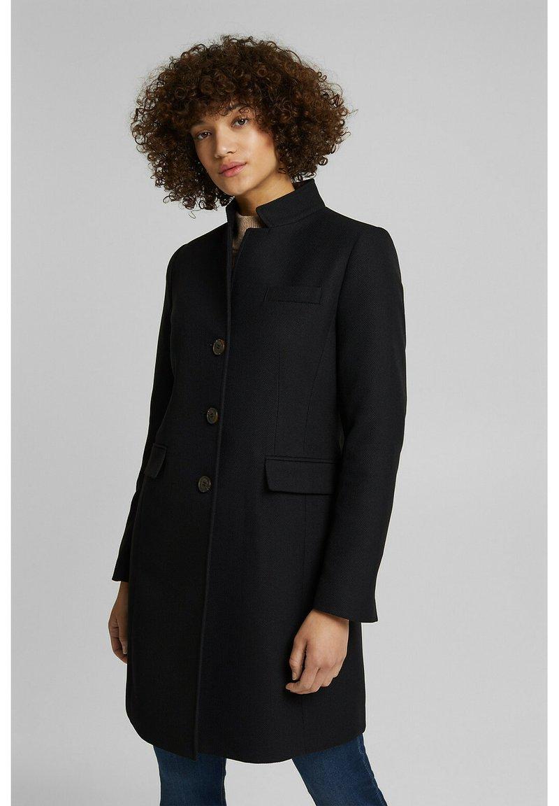 Esprit - Classic coat - black