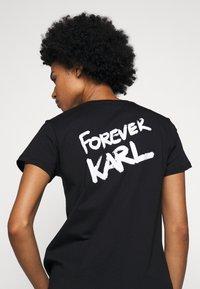 KARL LAGERFELD - FOREVER - T-Shirt print - black - 5