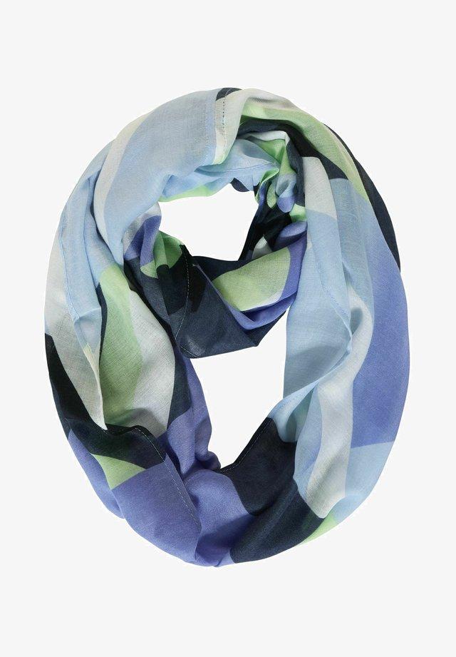 MIT GEOMETRISCHEM PRINT - Snood - blau
