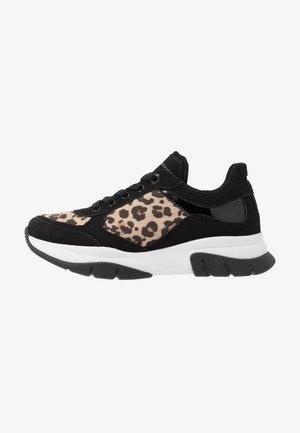 Sneakers laag - black/beige