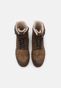 TOM TAILOR - Veterboots - brown - 3