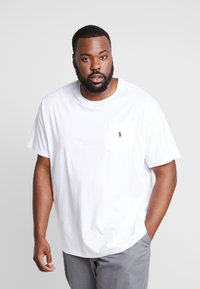 Polo Ralph Lauren Big & Tall - CLASSIC - Basic T-shirt - white - 0