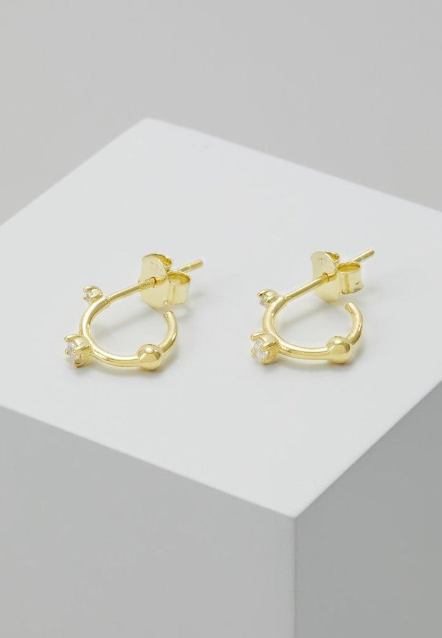 EARRINGS KAYA - Oorbellen - gold-coloured
