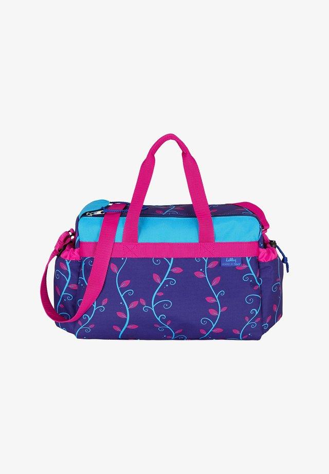 Sports bag - dark purple