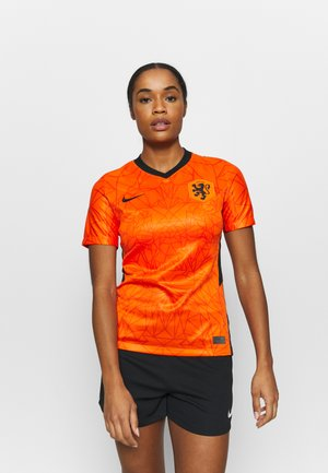 NIEDERLANDE KNVB HM - National team wear - safety orange/black