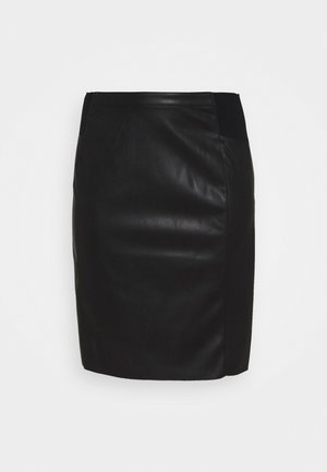 VMBUTTERSIA  - Pencil skirt - black