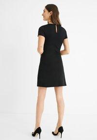 Desigual - Jumper dress - black - 2
