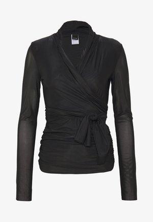 PUCCA COPRISPALLE MAGLINA - Bluzka z długim rękawem - black