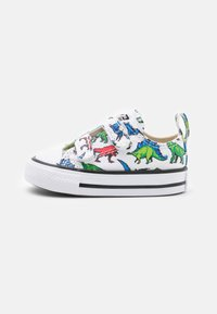 Converse - CHUCK TAYLOR ALL STAR DIGITAL DINOVERSE UNISEX - Trainers - white/green/university red - 0