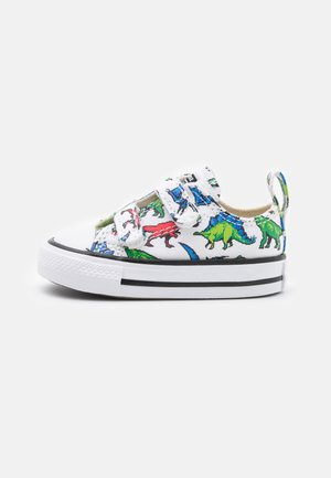 CHUCK TAYLOR ALL STAR DIGITAL DINOVERSE UNISEX - Sneakers - white/green/university red