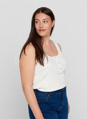 Top - bright white
