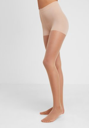 TIGHTS CONTOURING - Strømpebukser - powder