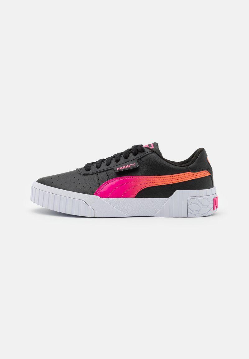 Puma - CALI SPACE JR UNISEX  - Trainers - black/glowing pink