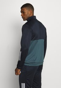 adidas Performance - FABRIC MIX AEROREADY SPORTS TRACKSUIT - Tracksuit - dark blue - 2