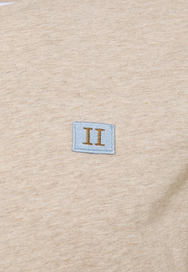 Les Deux PIECE - T-shirt basic - light brown melange/jasnobrązowy Odzież Męska AVIH