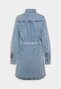 Gina Tricot - LONG SLEEVE DRESS - Denim dress - blue - 1