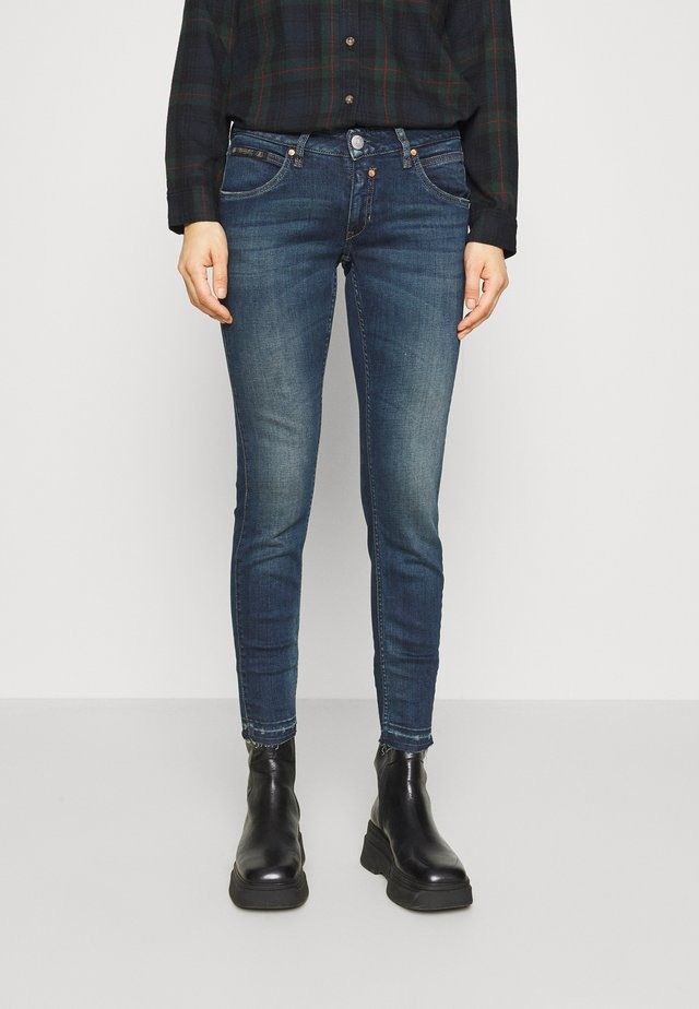 TOUCH CROPPED POWERSTRETCH - Jeansy Skinny Fit - gloomy