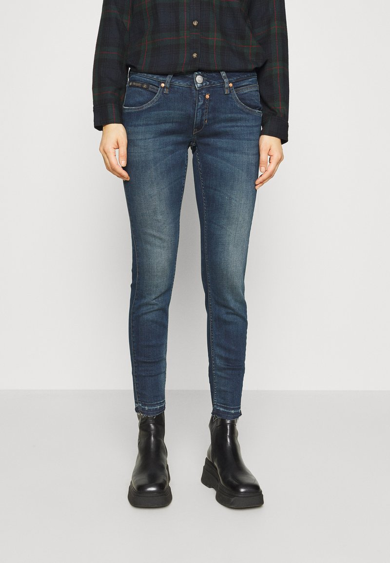 Herrlicher - TOUCH CROPPED POWERSTRETCH - Jeans Skinny Fit - gloomy