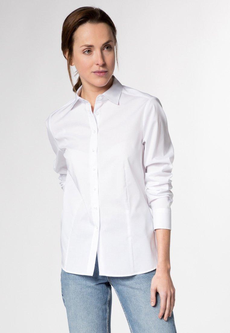 Eterna MODERN CLASSIC - Overhemdblouse - weiß - Dameskleding Klassiek