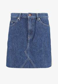 Tommy Jeans - SHORT SKIRT - Miniskjørt - blue denim - 4