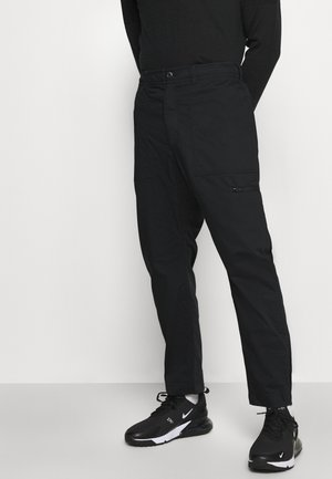 NOVELTY PANT - Trousers - black