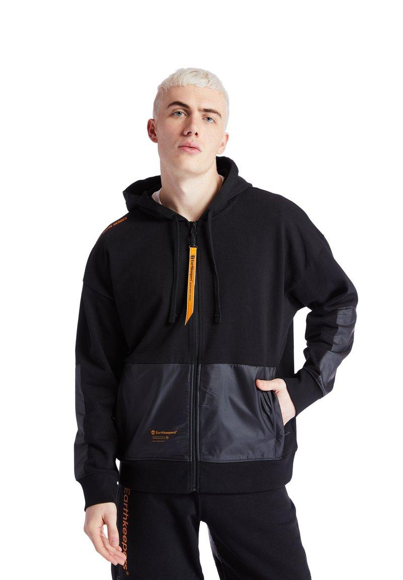 Timberland - EARTHKEEPERS+ HOODIE - Zip-up hoodie - black