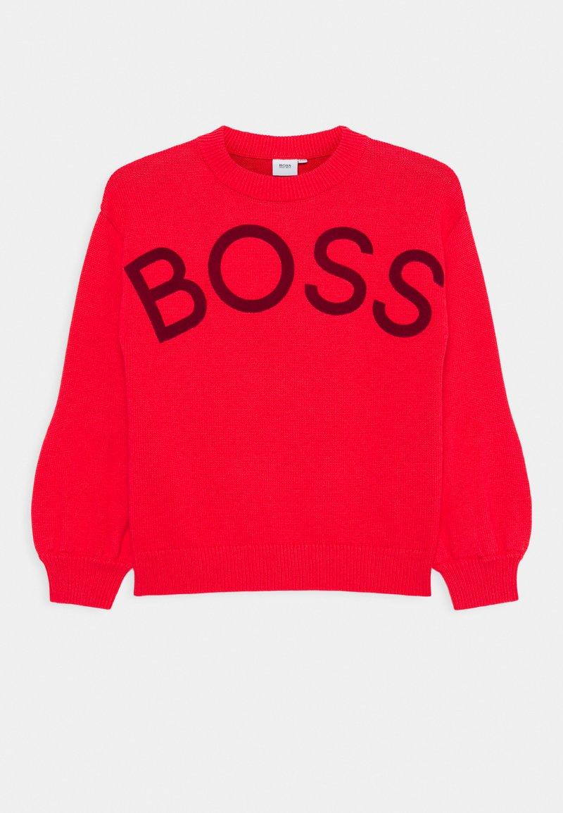 BOSS Kidswear - Jumper - red