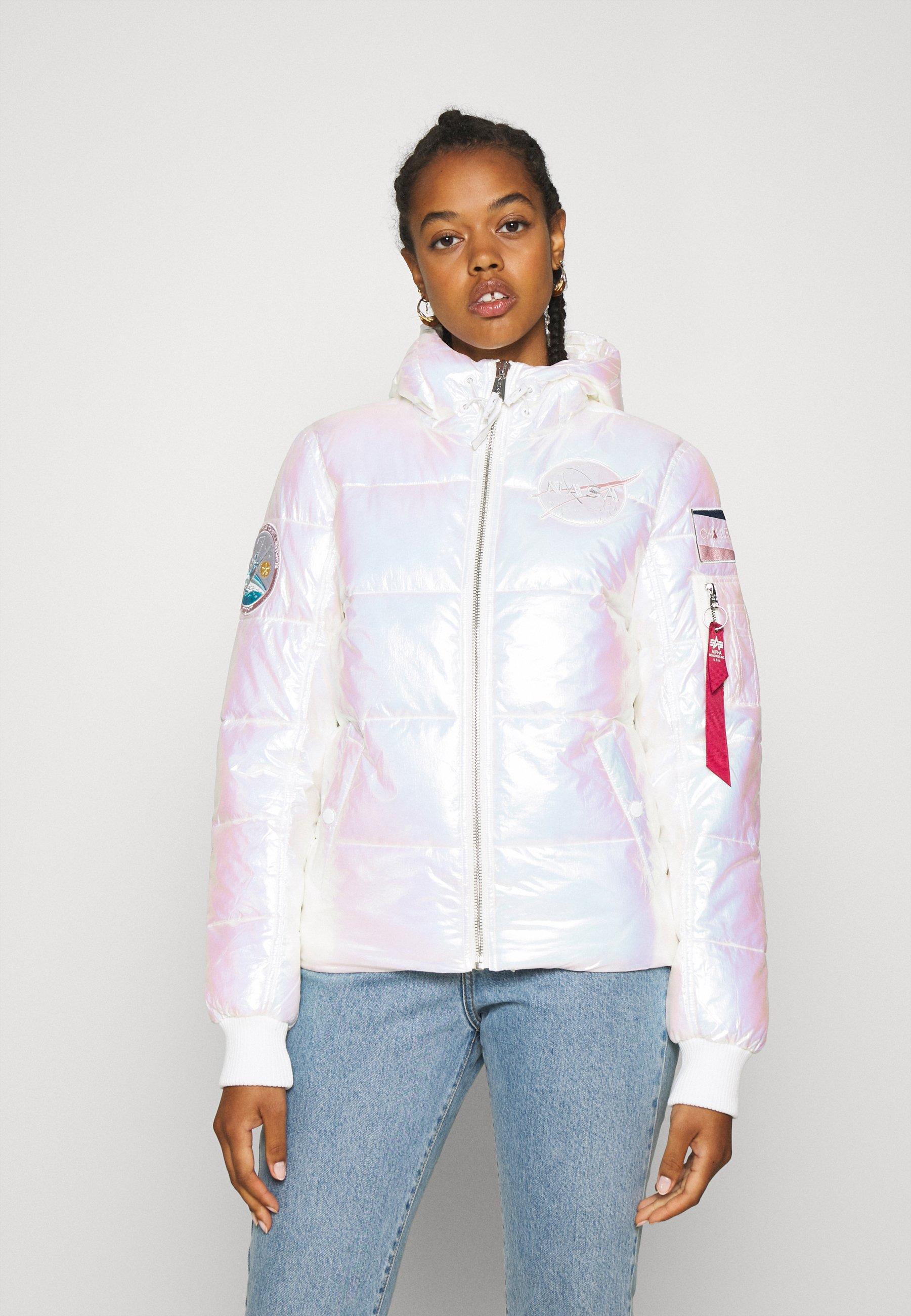 Women HOODED PUFFER NASA  - Winter jacket