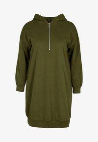 Zizzi - Jersey dress - green - 1