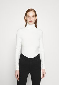 New Look - ROLL NECK - Long sleeved top - off white - 0