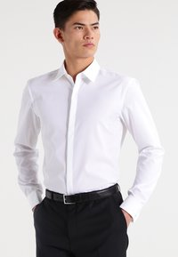 HUGO - ILIAS SLIM FIT - Formal shirt - open white - 0
