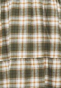 Noisy May - NMERIK LOOSE LONG DRESS - Shirt dress - fir green - 2