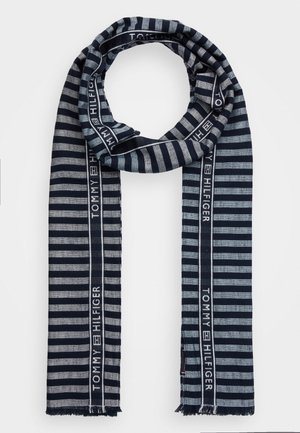 SEASONAL STRIPES SCARF - Scarf - blue